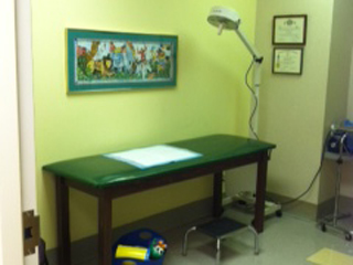 Charlotte pediatric neurology-urology-lab-room