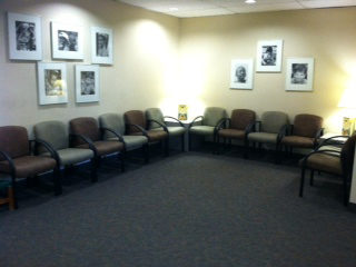 Charlotte pediatric surgicals Reception Area